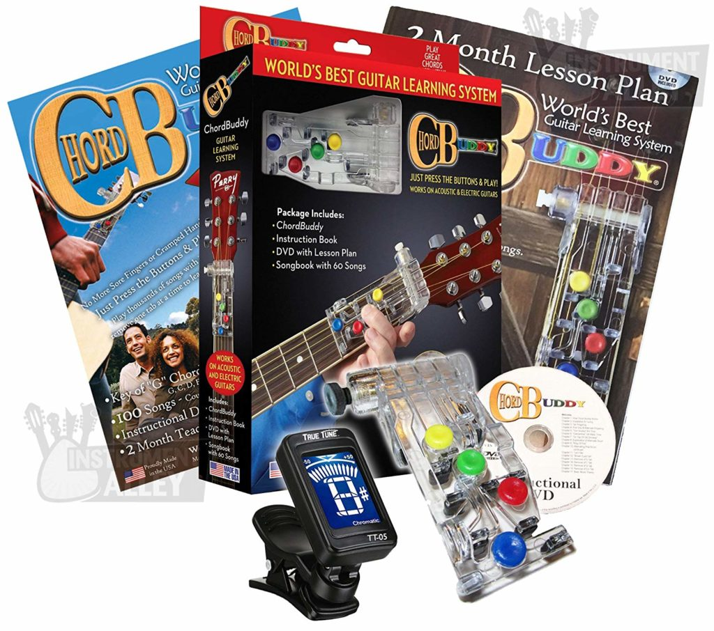 Chord buddy guitar learning system 1