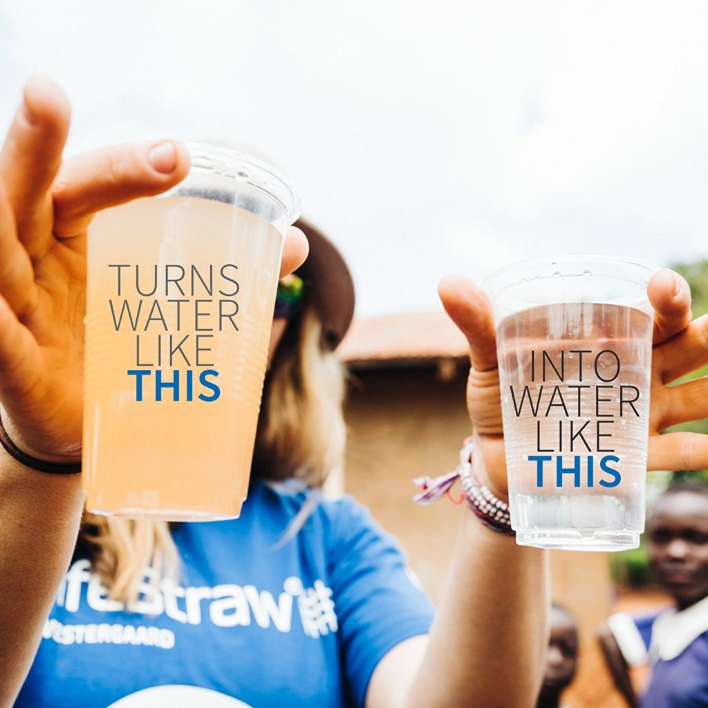 Turn Muddy water into clean drinking water
