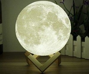 Designer moon lamp