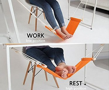 foot hammock work and rest