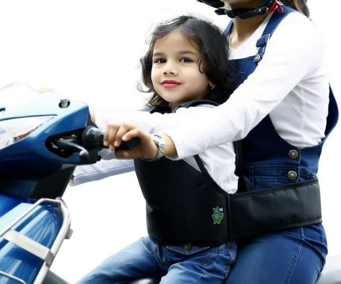 safety belt kids 2 wheeler