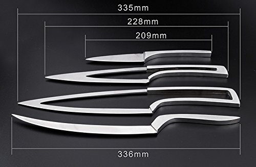 nesting kitchen knives award winning designer nesting knives cutlery gift set 7068