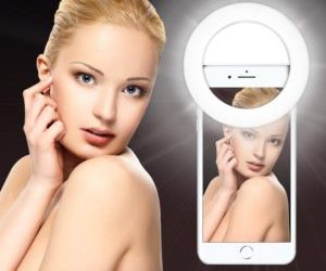 Selfie beauty ring light