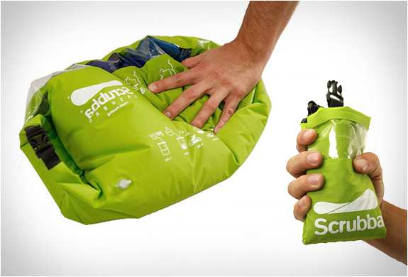 Scrubba washing bag
