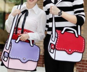 cartoon bags 2d