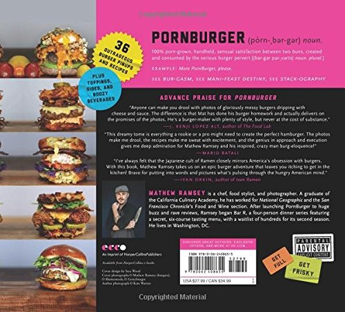 burger cook book