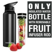 fruit infuser insulated bottle