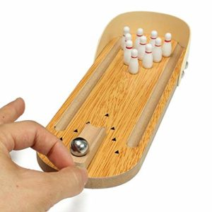 Wooden Game Mini Bowling toys