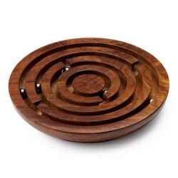 Wooden-Labyrinth-game indian games for kids