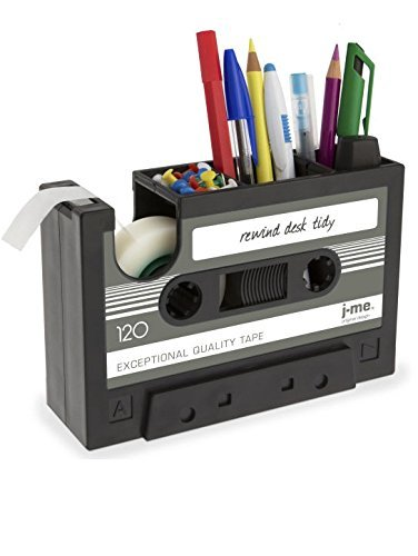 cassette tape Stationery-Organiser, pen Holder